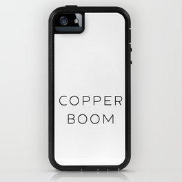 Copper Boom iPhone Case