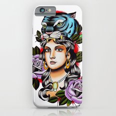 PaperTigress girl with tiger head - tattoo Slim Case iPhone 6s