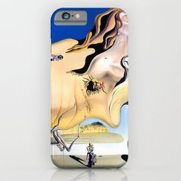 Salvador Dali The Great Masturbator 1929 Artwork for Wall Art, Prints, Posters, Tshirts, Men, Women, Kids iPhone Case