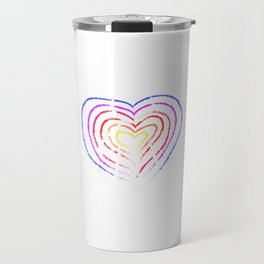 """""""Allow Who You Are On The Inside To Be Who You Are On The Outside"""" T-shirt Design Personality Human Travel Mug"""