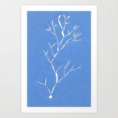 Nowhere tree Art Print