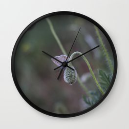 Flower Photography by muhammed doğan Wall Clock
