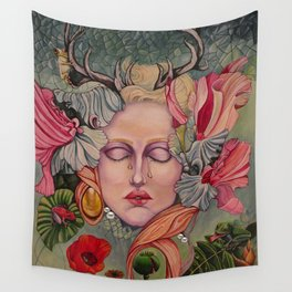 Natures Lament, Any Regrets? Wall Tapestry