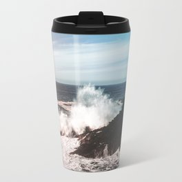 Waves Crash Travel Mug