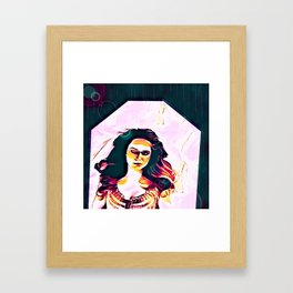 We Part Ways In This Life (part 2 of 3) Framed Art Print