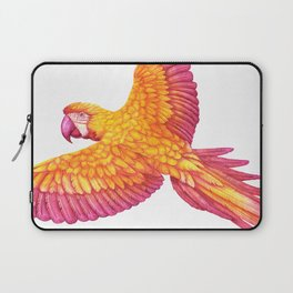 Flying macaw Laptop Sleeve