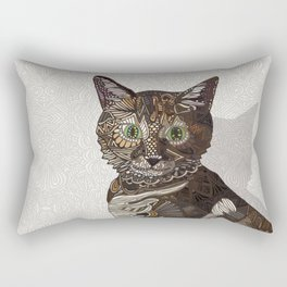 Tiger Princess Rectangular Pillow