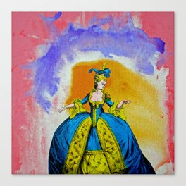 Marie Antoinette by Michael Moffa Canvas Print