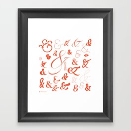 Ampersand Stories 2 Framed Art Print