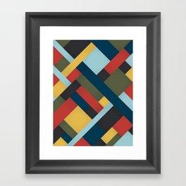 Abstrakt Adventure Framed Art Print