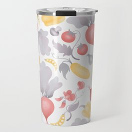 Vegetables (pastel) Travel Mug