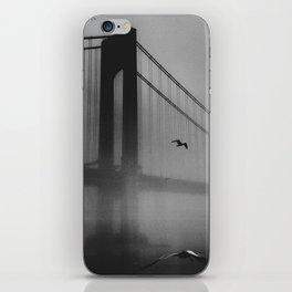 We burned our bridges iPhone Skin