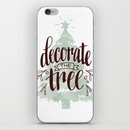 Decorate the Tree iPhone Skin