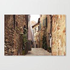 Lucignano Canvas Print
