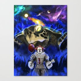 My Brother My Enemy Canvas Print