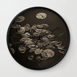 Pond Pads II Wall Clock