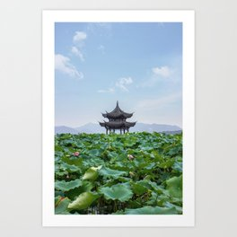 Imperial pavillion Art Print