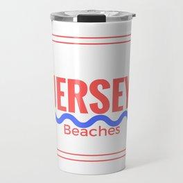 Jersey Beaches Graphic Travel Mug