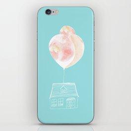 Balloon House iPhone Skin