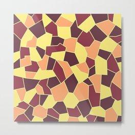 Hard Mosaic 05 Metal Print