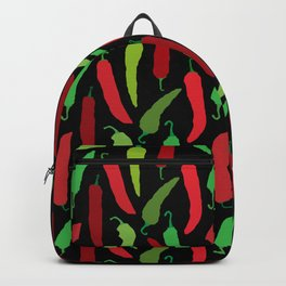 New Mexico Christmas Hatch Chiles in Black Backpack