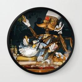 Robot Chef Wall Clock