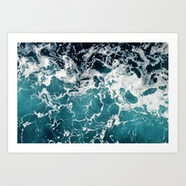 Churning Water Art Print