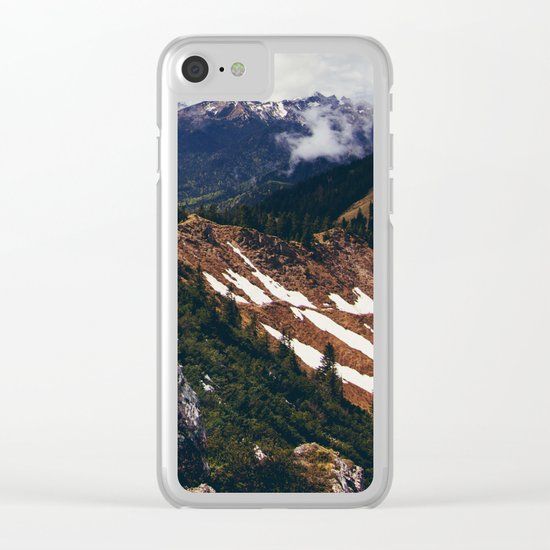 Never Surrender #society6 #prints Clear iPhone Case
