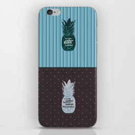Things Carlton Lassiter would rather do - Psych quotes iPhone Skin
