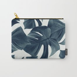 Monstera Leaves Pattern #1 #tropical #decor #art #society6 Carry-All Pouch