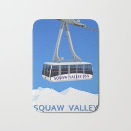 Squaw Valley Ski Resort ,LakeTahoe , California Bath Mat