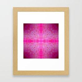jewelled cross 2 Framed Art Print
