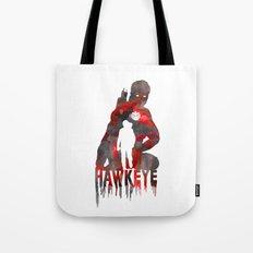 Hawkeye Print Tote Bag