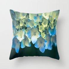 Peek -A- Blue Throw Pillow