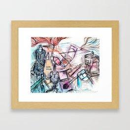Makeup Framed Art Print