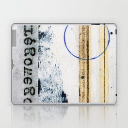 Polish Lines Abstract Collage Laptop & iPad Skin