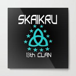 SKAIKRU Metal Print