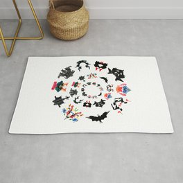 Rorschach test subjects' perceptions of inkblots psychology   thinking Exner score Rug