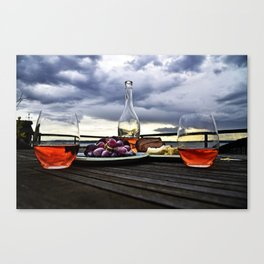Rosé in the Storm Canvas Print