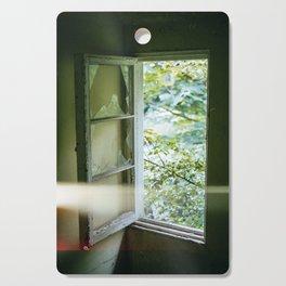 Window Light Leak Cutting Board