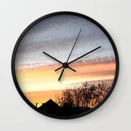 Dual Sky Wall Clock