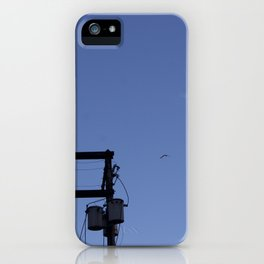 Birds and the Tower iPhone Case