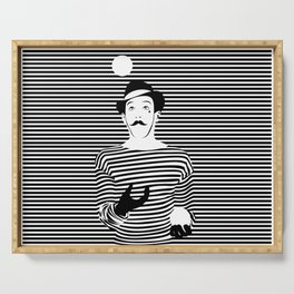 The Mime Serving Tray