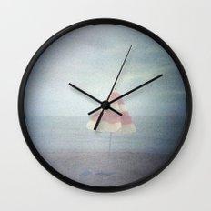 Summer ending Wall Clock