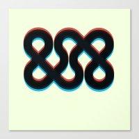 3d Canvas Prints featuring 3d && by pixel.pwn | AK