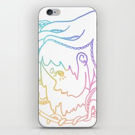 Octogirl iPhone Skin