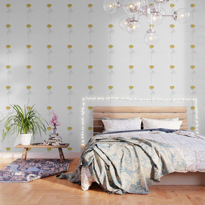 Lemon Rose Wallpaper