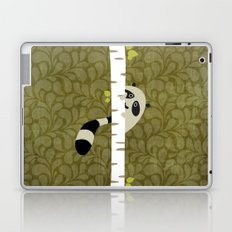 A shy raccoon Laptop & iPad Skin