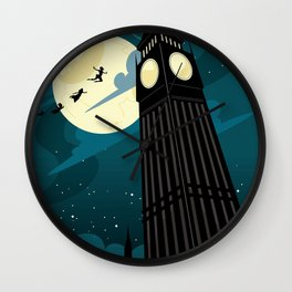 Peter Pan by J.M. Barrie Wall Clock