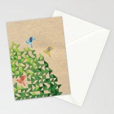 Where Origami Birds Go Stationery Cards